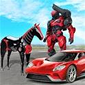 Robot Car Transformation – Wild Horse Robot Games icon