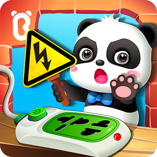 Baby Panda Home Safety Icon