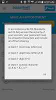 Screenshot of JH Mobile