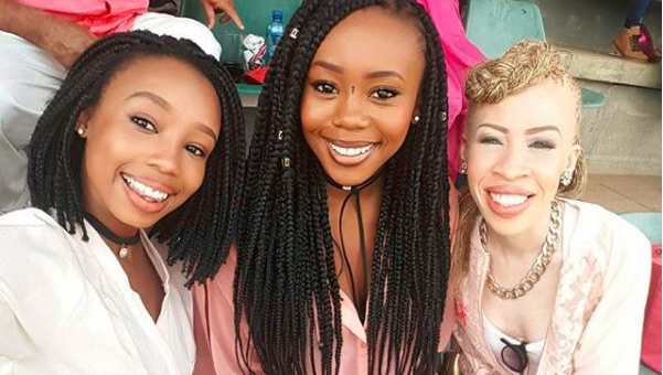 The Modiselle sisters Candice, Bontle and Refilwe