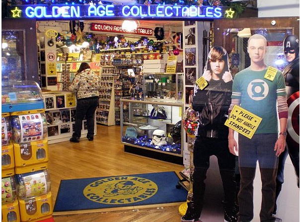 Golden Age Collectables: What to do in Seattle's Pike Place Market
