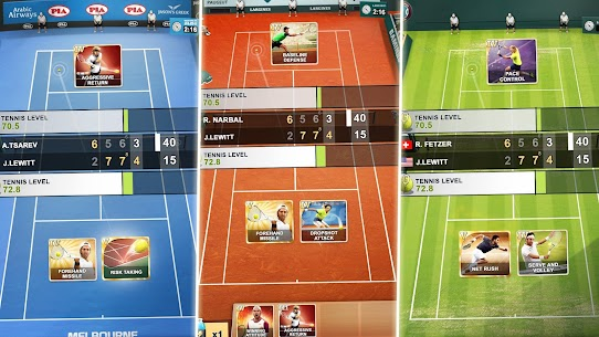 TOP SEED Tennis Mod Apk 2.53.2 (Unlimited Cash/Gold) 4