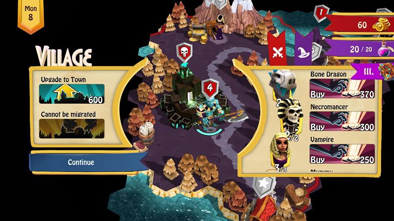 Heroes of Flatlandia Screenshot 2