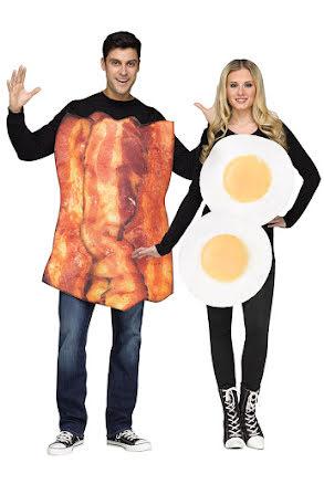 Dräkt, Party ägg och bacon