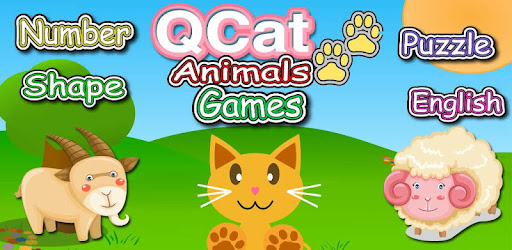 Приложения в Google Play – QCat Animal <b>8 in 1</b> Games (Free)