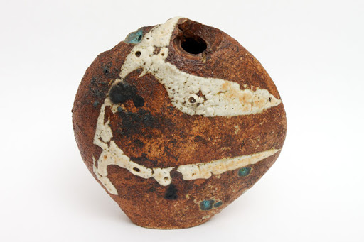 Robert  Fournier Ceramic 'Pebble Pot'