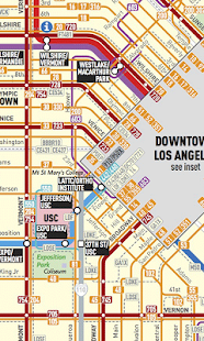 Los Angeles Transport Map- screenshot thumbnail
