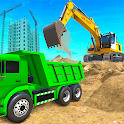 Heavy Excavator Simulator: Road Construction Games icon