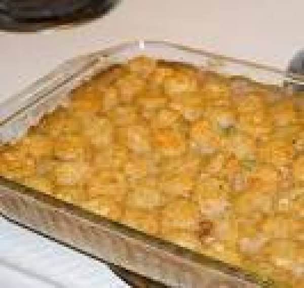 Beef,green Bean Tator Tot Casserole Recipe