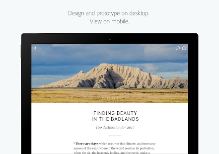 Adobe XD- screenshot thumbnail