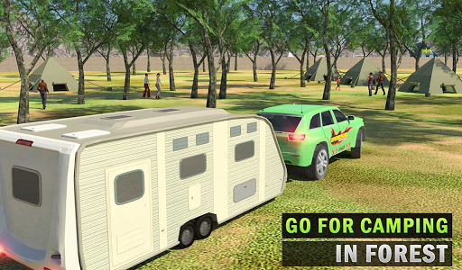 Camper Van Truck Simulator: Cruiser Car Trailer 3D 1.10 screenshots 13