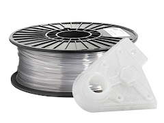 Translucent Clear PRO Series PLA Filament - 1.75mm (1kg)