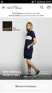size? for women - náhled