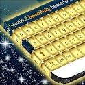 Gold Diamond Keyboard icon