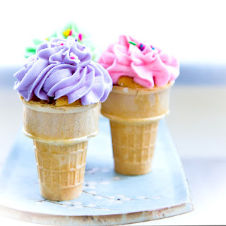 Birthday Cupcakes in a Cone Recipe