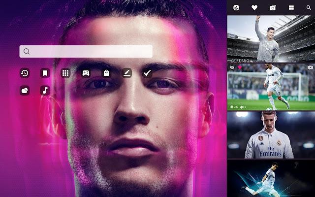 Cristiano Ronaldo Hd Wallpaper Theme
