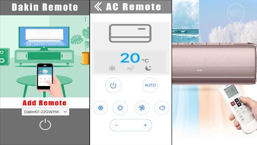 air conditioner remote for ac dakin universal screenshot 2