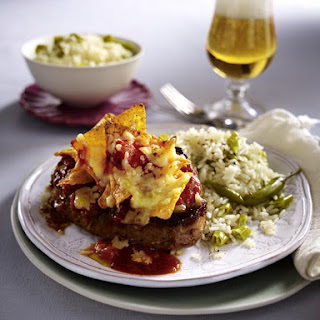 Sirloin Steaks with Jalapeño Rice.