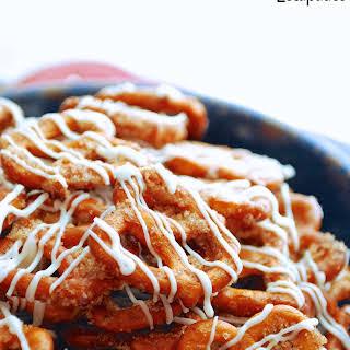 Cinnamon Roll Pretzels.
