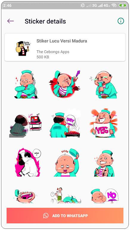 Stiker Madura Lucu Wastickerapps Apk App Unduh Gratis