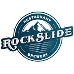 Logo for The Rockslide Brewery & Restaurant
