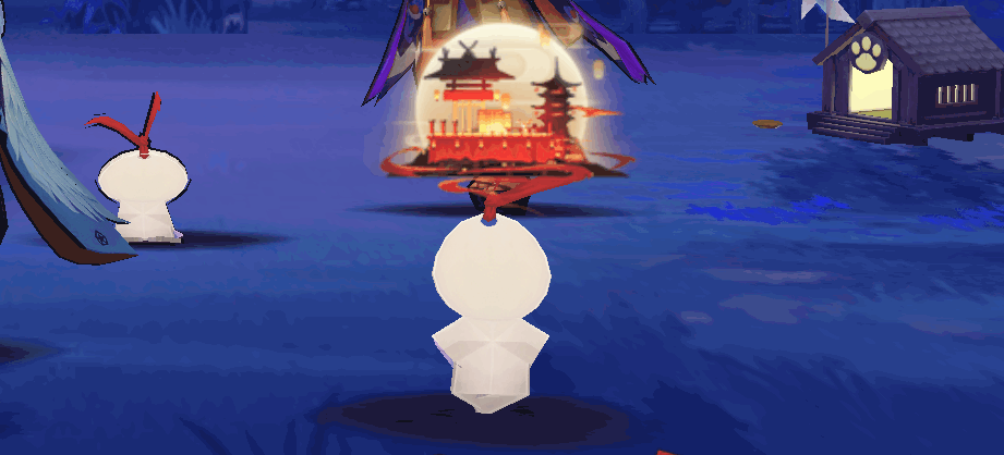 杏原茶屋紙人形