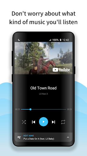Free Music Player : Streamy (Floating) 1.0.1 screenshots 1