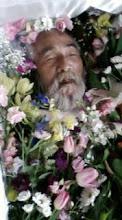 Photo: お棺の中のナナオ