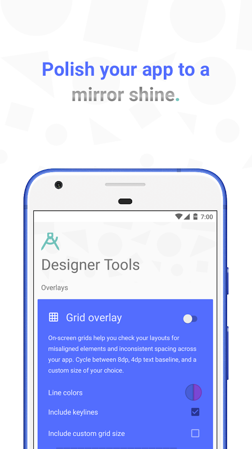 Designer Tools- screenshot