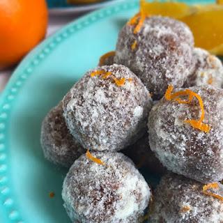 Easy Orange Cake Balls {Keto, Vegan, Paleo}.