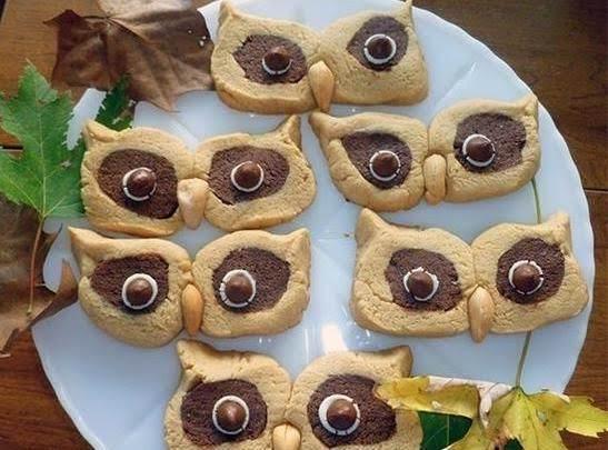 Peanut Butter Owl Cookies Recipe