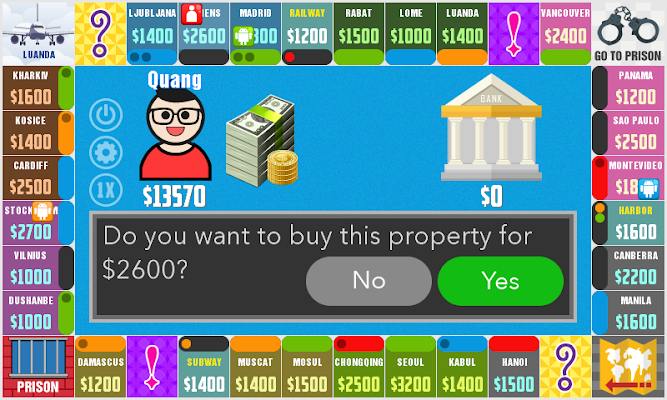 Billionaire Chess - screenshot