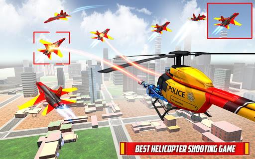 Helicopter Robot Transform: Formula Car Robot Game filehippodl screenshot 2
