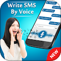 Write SMS by Voice : Speech to Text Messages icon