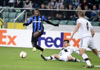 Club Brugge komt niet verder dan een 1-1-gelijkspel bij Legia Warschau