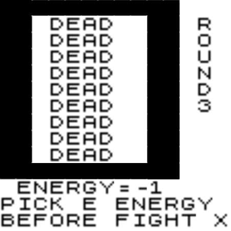 ZX81 DUNGEON MAZE 1 screenshots 2