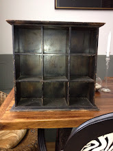 Photo: $23. Square shelving unit, wood.