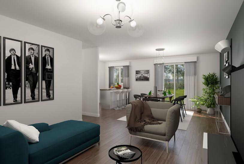 Vente Terrain + Maison - Terrain : 212m² - Maison : 87m² à Saint-Michel-sur-Orge (91240)
