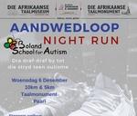 Aandwedloop / Night Race : Afrikaanse Taalmonument