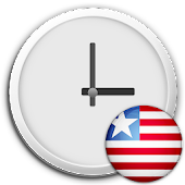 Liberia Clock & RSS Widget