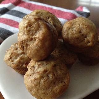 Mini Raisin Bran Muffins.