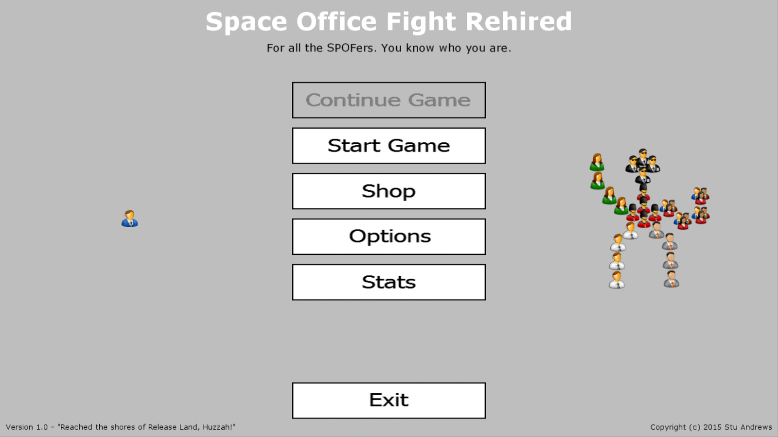 Space Office Fight, Rehired- screenshot
