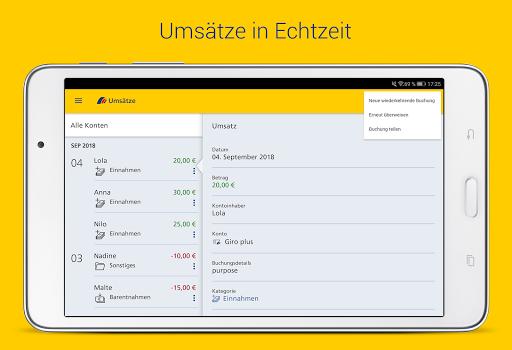 Postbank Finanzassistent  screenshots 24