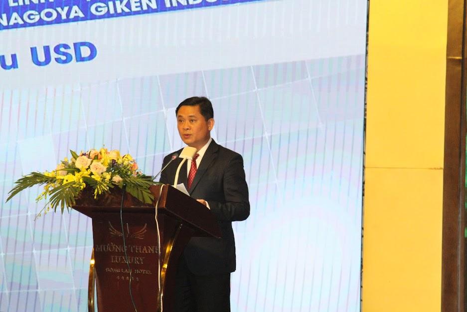 Ông Thái Thanh Qúy, Chủ tịch UBND tỉnh phát biểu khai mạc Hội nghị