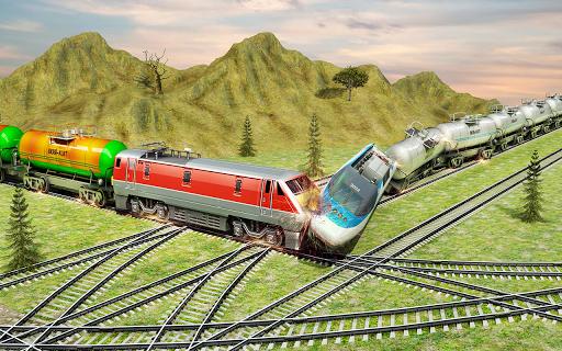 Indian Train City Pro Driving- Oil Tanker Train  screenshots 8