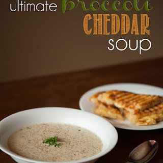 Ultimate Broccoli Cheddar Soup