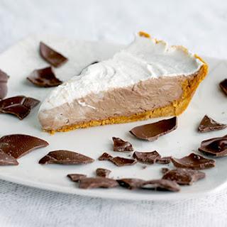 Leftover Chocolate Mousse Pie