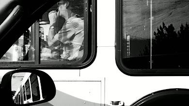Photo: Bus Driver, Chinatown - Seattle