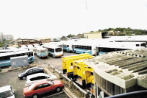 BUST: eThekwini public transport is in shambles after Remant Alton, a consortium that has been running the buses since 2003, said they are technically insolvent. 14/03/09. Pic. Canaan Mdletshe. © Sowetan.