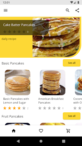 Code Triche Pancake Recipes APK MOD (Astuce) screenshots 1